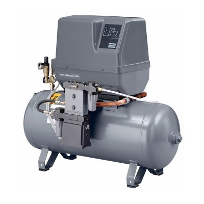 Atlas Copco LFx compact oil-free piston air compressors