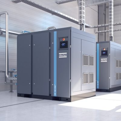 Atlas Copco ZR ZT Rotary screw rotary oil-free air compressors