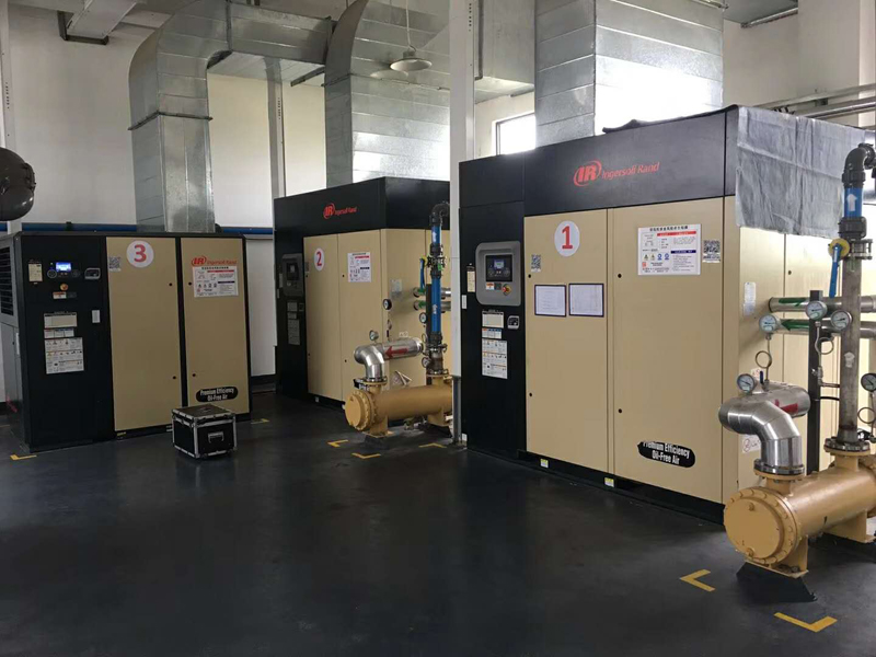 Project of Ingersoll Rand Air Compressor and Air Dryer
