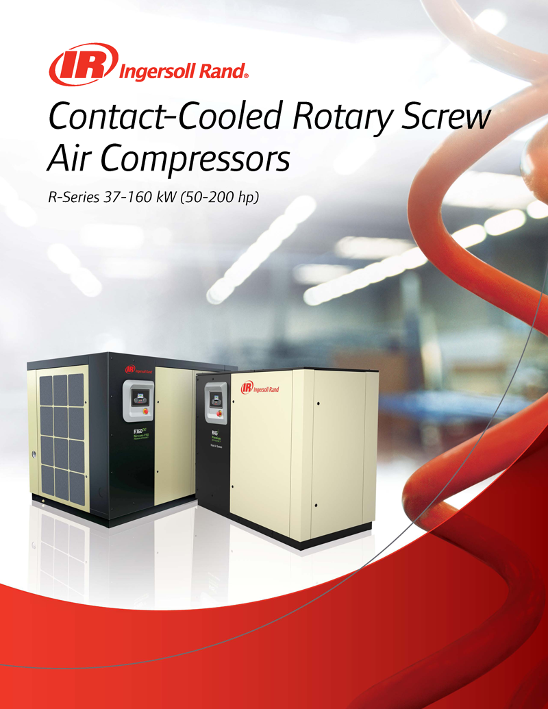 Ingersoll Rand R Series 90-160 kW Oil-Flooded Rotary Screw Compressors Ingersoll Rand R-Series compressors offer the best of time-proven designs and technologies with advanced features to ensure the highest levels of reliability, efficiency and productivity.