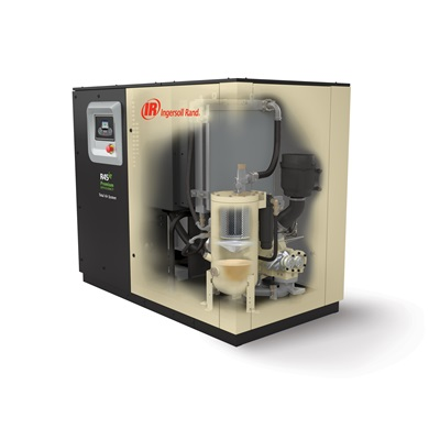 Ingersoll Rand R Series 45-75 kW Oil-Flooded VSD Rotary Screw Air Compressors